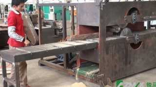 getlinkyoutube.com-Arterki Plank Multo Rip Saw Machine MJ-3025 for woodcutting
