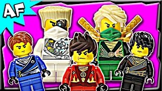 getlinkyoutube.com-Lego Ninjago Minifigures 2014 Rebooted Nindroids Complete Collection