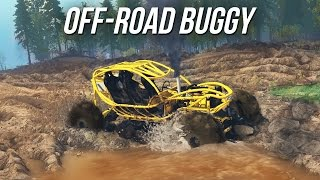 getlinkyoutube.com-Spin Tires - EPIC OFF-ROAD BUGGY - MUDDING AND TRAILS (SpinTires Mods Gameplay)