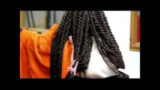 getlinkyoutube.com-SENEGALESE ROOT TWIST - JUMBO STRANDS