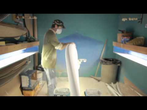 paul carter how to shape a surfboard - part4