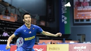getlinkyoutube.com-[TCH] Lee Chong Wei - Great Speed - Skill Badminton Dan Lin