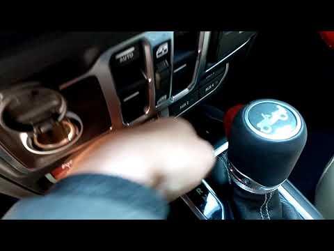 Как снять с паркинга Jeep Vrangler