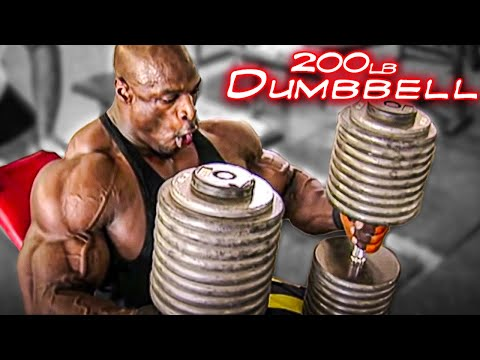 The Coleman Chronicles- A Day In The Life Of Ronnie Coleman (Chest Day)