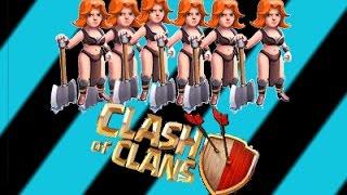 getlinkyoutube.com-كلاش اوف كلانس ( إستراتيجيات هجوم ب ام فاس )#19 Clash of clans