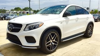 getlinkyoutube.com-2016 Mercedes Benz GLE Class: GLE 450 AMG Coupe Full Review / Exhaust / Start Up
