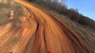 getlinkyoutube.com-Riding my 2014 CRF450R at DIRT CITY USA in Polkton NC