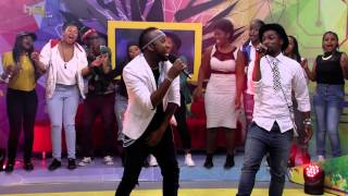 getlinkyoutube.com-Nathi ft Vusi Nova performs Nomakanjani -  Live Performances
