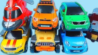 getlinkyoutube.com-TOBOT cars 또봇 기가세븐7 Giga 7 transformers car toys