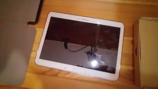 getlinkyoutube.com-Samsung Galaxy Tab 4 10.1 Unboxing [4K/Deutsch] - LTE 16 GB -