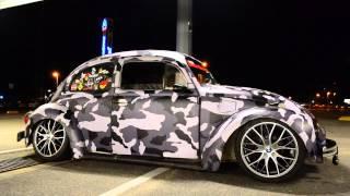 getlinkyoutube.com-VW Fusca (vulgo fusca camaleão) - Camuflado - Rodas 17'' da BMW 335i BITURBO