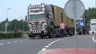 getlinkyoutube.com-Scania R 730 tripleX van Michel Kramer mooiste truck in Assen, van Nederland 2012