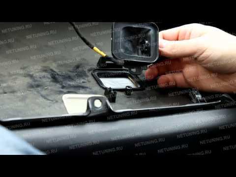 Замена лампы освещения перчаточного ящика Mazda