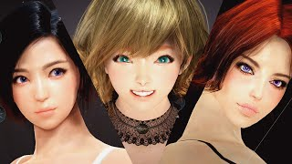 getlinkyoutube.com-黒い砂漠 キャラカス Black Desert Character Customize