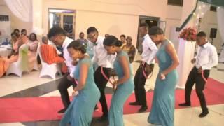 AFRICAN WEDDING MAIDS DANCING  NANA  BY BRACKET