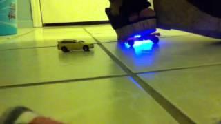 getlinkyoutube.com-Crushed Two Toy Cars