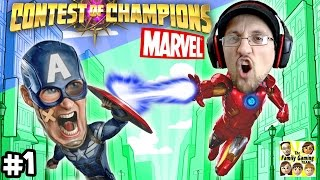 CONTEST of CHAMPIONS #1: Duddy vs. Captain Surrender! Marvel Super Heroes Fun (FGTEEV iPad Gameplay)