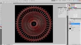 getlinkyoutube.com-Beveled Mandalas in Photoshop