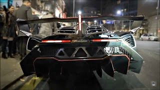 getlinkyoutube.com-£6 million Lamborghini Veneno causes CHAOS in Central London!