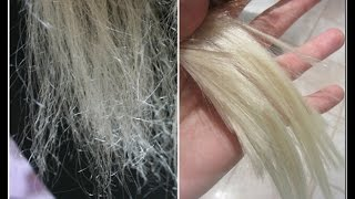 getlinkyoutube.com-How to repair VERY damaged hair! :)