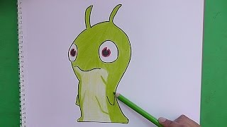 getlinkyoutube.com-Dibujando y coloreando Vinedrill (Bajoterra) - Drawing and coloring Vinedrill