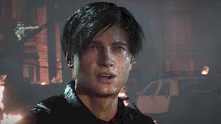 RESIDENT EVIL 2 REMAKE Reveal Trailer PS4 (E3 2018)