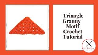 getlinkyoutube.com-Motif of the Month Jan 2014: Triangle Granny
