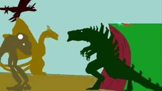 getlinkyoutube.com-Godzilla: the Series Intro recreation (with EnglishJoAnn's characters)