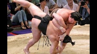 getlinkyoutube.com-Top 5 best fights Sumo #9 Професиональное сумо