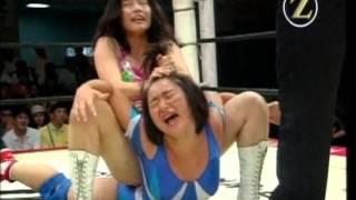 getlinkyoutube.com-Chikako Shiratori vs Candy Okutsu