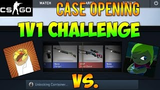 getlinkyoutube.com-CS GO - Case Opening 1v1 Challenge Feat. Leafy!