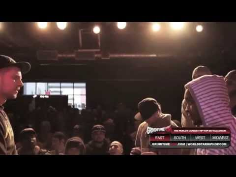Grind Time Now presents: Real Deal vs Lotta Zay (feat. Immortal Techique &amp; Peter Rosenberg)