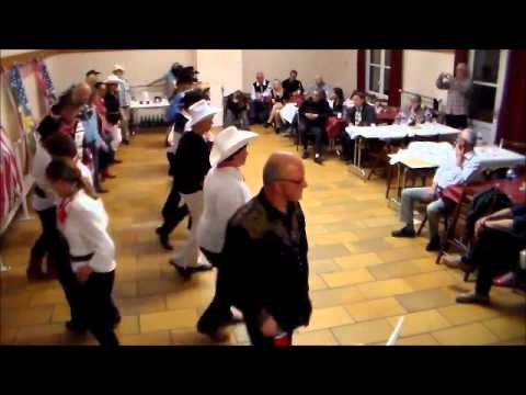 S B S DEMO de danse country à Saint Crépin aux Bois COUNTRY D&L OISE