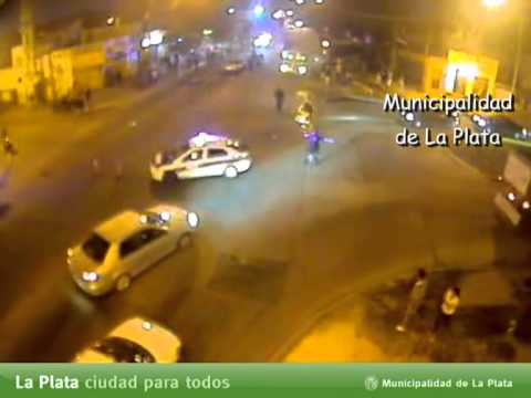 monitoreo urbano la plata accidente