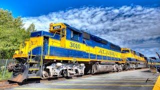 getlinkyoutube.com-Riding the Alaska Railroad 2014 - 4K