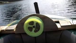 getlinkyoutube.com-草刈機改造船外機3 Weedeater outboard motor Ⅲ