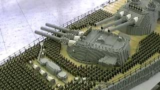 getlinkyoutube.com-LEGO Battleship Yamato GunTurret: レゴ戦艦大和の大砲