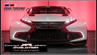 getlinkyoutube.com-Gran Turismo 6 | Mitsubishi Concept XR-PHEV EVOLUTION Vision GT super LAP!! (GOLD) | Seasonal Event