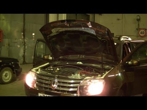 Расположение тормозных шлангов в Renault Kaptur