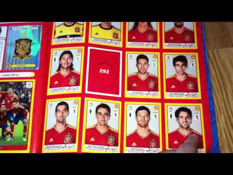 PANINI UEFA EURO 2012  
