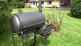 RF Water Tank Offset Smoker.