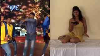 getlinkyoutube.com-HD मोबाइल में हॉट फिल्म देखेली - Massage Bhejatani - Bhojpuri Hot Songs 2015 new