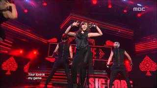 getlinkyoutube.com-Stephanie - Game, 스테파니 - 게임, Music Core 20121103