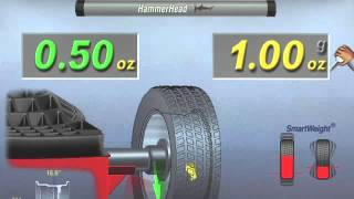 getlinkyoutube.com-Wheel Balancer Operation - Hunter Engineering