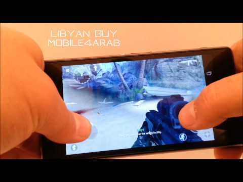 MC4 & Asphalt8 Game Play XPERIA Z1