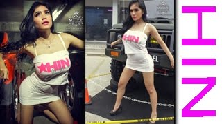 getlinkyoutube.com-Model seksi di event HIN Palembang