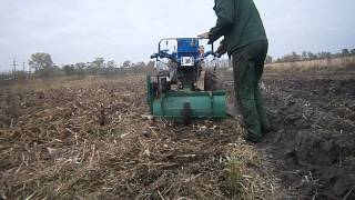 Заделка кукурузных остатков AVI