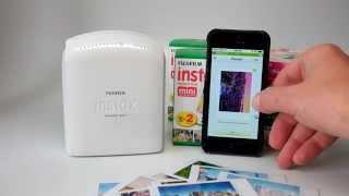 getlinkyoutube.com-Fujifilm Instax Share Printer Demo