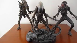 getlinkyoutube.com-NECA Alien Dog (Serie 3) Review en Español