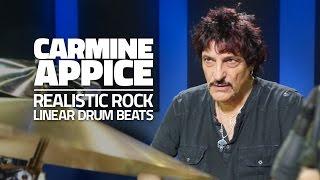 getlinkyoutube.com-Carmine Appice: Linear Drum Beats - Drum Lesson (Drumeo)